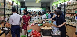 Organica garden opens store in Ha Noi, receives organic certification