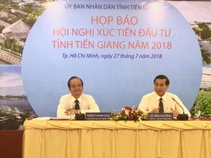 Tien Giang to host investment conference in early August