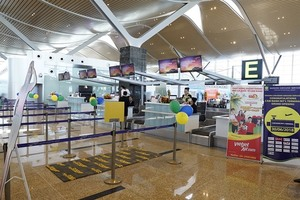 Vietjet operates int'l flights at new terminal