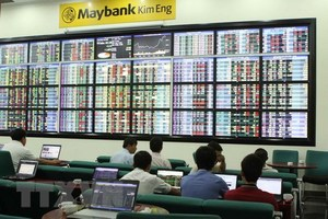 Shares end the morning mixed on investor worries