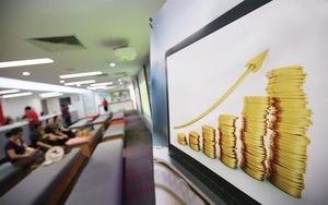 Banks, energy firms drive market up