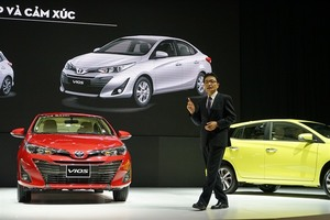 Toyota launches next generation models