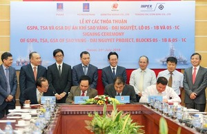 PVN signs trade agreements on gas field exploitation
