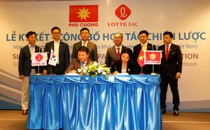 Phu Cuong, Lotte Engineering tie up for housing, other developments