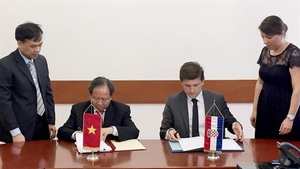 VN, Croatia sign agreement on double taxation avoidance