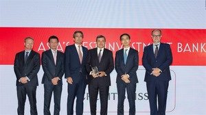 Credit Suisse named Viet Nam's best investment bank for the 9th time