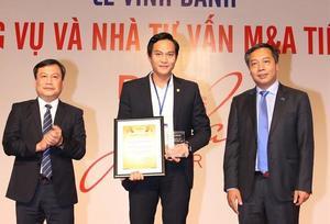 Bao Viet Securities honoured at Vietnam MA 2018 Forum