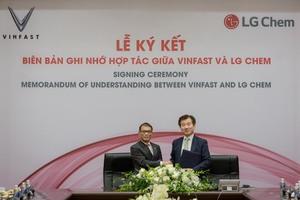 VinFast signs LG Chem battery deal