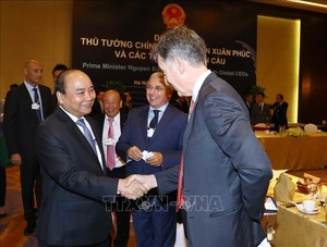 PM meets with multinational corporations