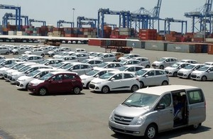 August car imports up
