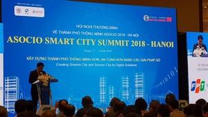 Ha Noi steps up smart city development