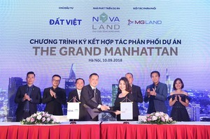 Novaland names distributors for new condo project in downtown HCM City