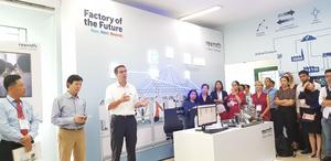 Industry 4.0 Lab set up in Dong Nai with Bosch Rexroth assistance