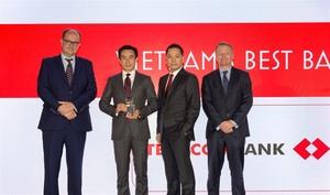 Techcombank named best bank in Viet Nam 2018
