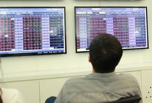 Shares rebound on blue-chip gains