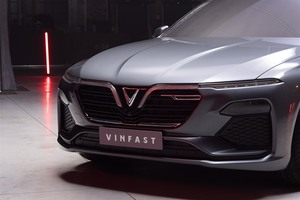 VinFast introduces exterior design images of sedan and SUV