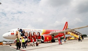 Vietjet joins int'l travel expo in HCM City