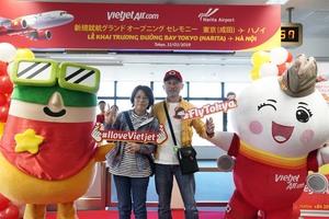 Vietjet launches Ha Noi-Tokyo route