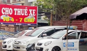 Car rental market busy before Tet holiday