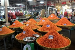HCM City traditional markets report beginning of Tet sales