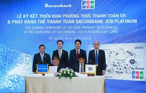 Sacombank makes QR code strides