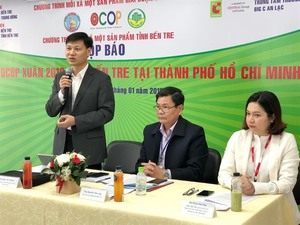 Ben Tre promotes products in HCM City