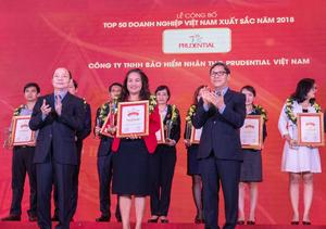 Prudential named leading life insurer in Viet Nam