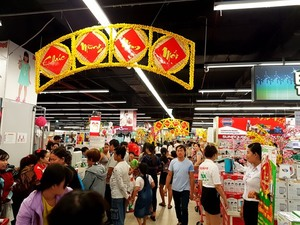 Supermarkets report sharp rise in sales during New Year