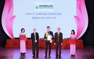 Herbalife receives Golden Product for Community Health Award