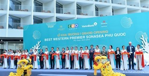 First US-style five-star resort opens in Phu Quoc