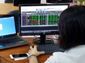VN stocks rebound on bank purchases