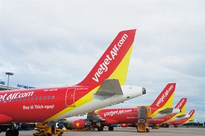 Vietjet to add more than 2,500 flights during Tet holiday