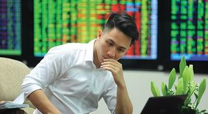 VN stocks close negative on low confidence
