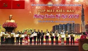 HCM City leaders warmly welcome Overseas Vietnamese back home for Lunar New Year celebration