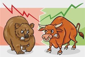 Shares decline slightly on investor caution