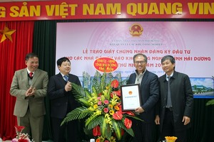 Hai Duong licenses two foreign projects