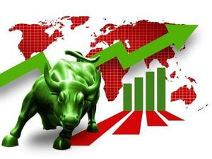 Large-cap firms drive gains in morning trading