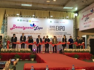 Beautycare Expo 2019 opens in Ha Noi