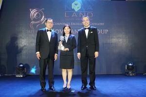Novaland named corporate excellencewinner of Asia Pacific Entrepreneurship Awards 2019