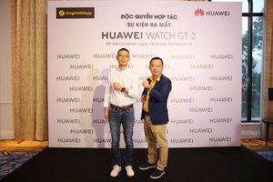 Huawei launches Watch GT 2 in Viet Nam