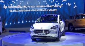 Ford to bring at least 1 new car to VN every year