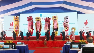Work on LNG storage facility begins in Ba Ria-Vung Tau