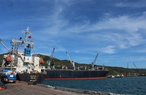 Chinese port wants to invest in logistics, open a line to Vung Ang port