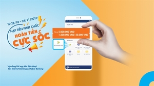 Sacombank unveils 'Fast mobile top-up – Get shock refunds'