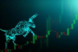 Shares finish morning session with good gains