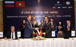 NAPAS, MIR signs co-operation projects