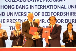 University signs agreement with UK's University of Bedfordshire