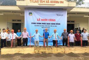 Heineken Vietnam sponsors clean water project in Lai Chau Province