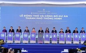 Work kicks off on $4.2 billion smart city in Ha Noi