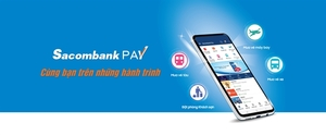 Booking for hotels and purchase bus/train tickets via Sacombank Pay app